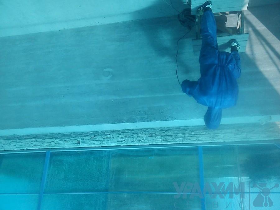 Гидроизоляция бассейна полимочевиной цены мастика герметизирующая нетвердею
